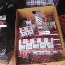 Pasieniečiai sulaikė cigarečių kontrabandą: įkliuvo trakiškis ir du kauniečiai