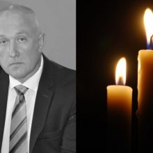 Prokuratūra atmetė versiją, kad Utenos parke miręs A. Remeikis buvo nužudytas