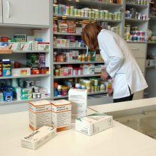 Svarstys,  ar nukelti vaistinėms svarbios įstatymo pataisos įsigaliojimą