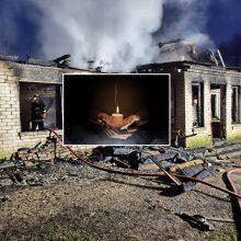 Tragiškas gaisras Anykščių rajone: žuvo paauglė, du mažamečiai ir pernai gimęs kūdikis