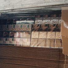 Šalčininkų kelio poste sulaikyta daugiau kaip milijono eurų vertės cigarečių kontrabanda