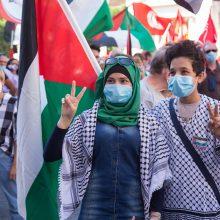 Palestinos administracija įvedė naktinę ir savaitgalių komendanto valandą