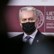 G. Nausėda: sankcijų taikymas Baltarusijai neturėtų pabloginti Lietuvos piliečių padėties