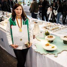 Lietuvė D. Valentienė iškovojo aukso medalį pasaulio kulinarijos olimpiadoje