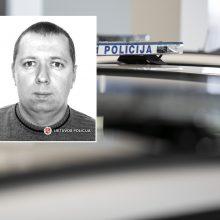 Pareigūnai ieško be žinios dingusio vyro: išėjo iš namų Vilniuje ir negrįžo