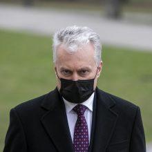 G. Nausėda: Vilniaus valdžiai trūksta politinės valios dėl paminklo A. Smetonai
