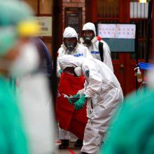 Taivane plečiasi didžiausias koronaviruso pandemijos protrūkis