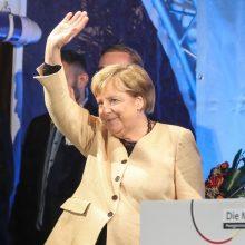 """""""Amžinoji kanclerė"""" A. Merkel ruošiasi palikti Vokietijos politikos sceną"""
