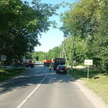 Įspėja: Juodojo kelio sankryžose – draudžiamas eismas
