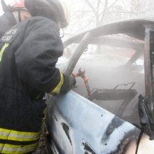 Vilniaus rajone pleškėjo automobiliai ir konteineriai: įtariami padegimai