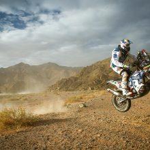 Neveroniškis Dakare sieks kirsti finišą kaip vienišius