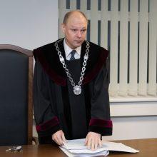 Vilniuje sustabdytas neblaivus vairavęs teisėjas M. Striaukas