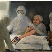 Pandemija liks įamžinta tapyboje