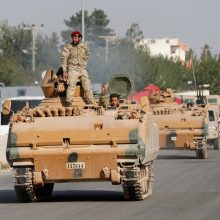 Sirijos kurdams bandant atremti Turkijos puolimą vyksta intensyvūs mūšiai