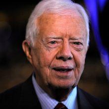 J. Carteris: rasinė neteisybė pakerta JAV demokratiją