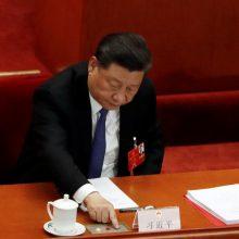 Kinija vetavo JT siūlymą surengti susitikimą dėl Honkongo saugumo įstatymo