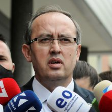 ES po Serbijos ir Kosovo vadovų susitikimo: derybos grįžo į vėžes