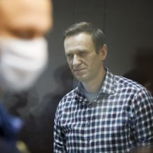 A. Navalnas apkaltino Rusijos pareigūnus neleidžiant jam pakankamai miegoti
