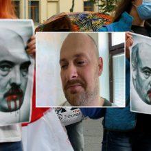 Baltarusis tikisi prieglobsčio Lietuvoje: už dalyvavimą protestuose jam iškeltos dvi bylos