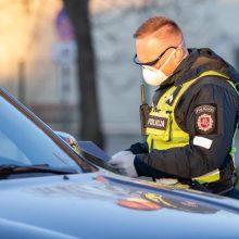 Pareigūnai patikrino 670 vairuotojų blaivumą: vienas gudruolis reidą atsimins ilgai