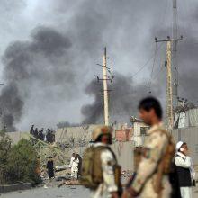 Galingas sprogimas Kabulo centre: žuvo 16, sužeista daugiau kaip 100 žmonių