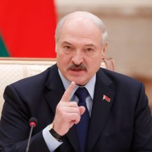 """Baltarusijos prezidentas žada, jog saugumo padėtis netaps """"nevaldoma"""""""