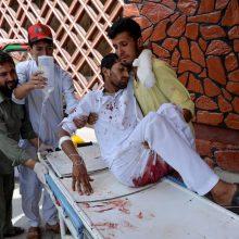 Afganistano rytuose nuaidėjus sprogimams nukentėjo dešimtys žmonių