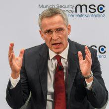 NATO vadovas atmeta E. Macrono raginimus dėl branduolinės ginkluotės