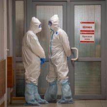 Rusijoje nustatyta 8,9 tūkst. naujų COVID-19 atvejų: mirė 92 žmonės