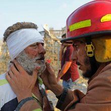 Europos Sąjunga į Beirutą skubiai išsiųs gelbėtojų