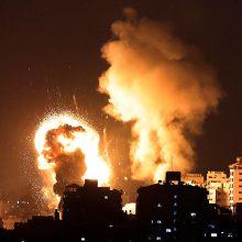 Jeruzalėje Al Aksos mečetės komplekse kilo didelis gaisras