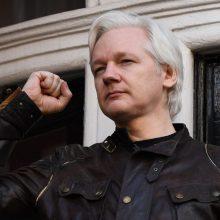 """JAV apskundė JK atsisakymą išduoti """"WikiLeaks"""" įkūrėją J. Assange"""