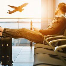 Lenkija tarptautinių skrydžių draudimą pratęs iki birželio 6 dienos