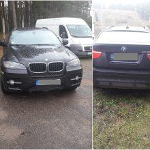 Latvis į Baltarusiją važiavo Italijos teisėsaugos ieškotu BMW