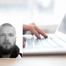 Policija prašo pagalbos: pigiau nusipirkti kompiuterį nusprendęs vyras tapo sukčiaus auka