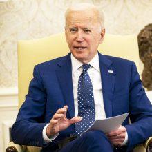 Kremlius: gerai, kad J. Bidenas kaip ir V. Putinas nori dialogo