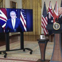 Sukūrusi aljansą su JAV ir JK, Australija statysis povandeninius laivus