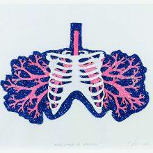 Menininko įkvėpimo šaltinis – plaučių liga