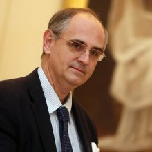 E. Lucasas: atsakomybė už saugumo partnerysčių ateitį tenka europiečiams