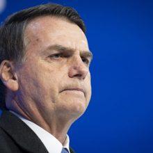 Brazilijos prezidentui J. Bolsonaro atliktas COVID-19 testas vėl buvo teigiamas