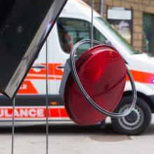 Praėjusią parą per eismo įvykius sužeisti šeši žmonės