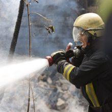 Kėdainių rajone ir Pakruojyje pleškėjo ūkinis pastatas bei daugiabučio stogas: įtariami padegimai