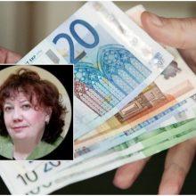 Bankroto administratorei R. Trimailienei už kyšininkavimą – 35 tūkst. eurų bauda
