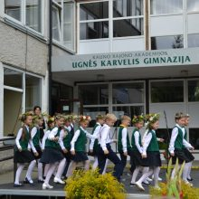 Akademijoje pertvarkoma Ugnės Karvelis gimnazija