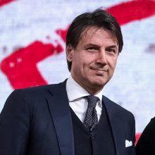 Italijos premjeras G. Conte: esame lemiamame etape