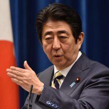 Japonijos premjeras atšaukė dėl COVID-19 įvestą nepaprastąją padėtį