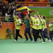 Triumfas: 2016-aisiais M.Panovas su bendražygiais Rio de Žaneiro paralimpiados finale 14:8 įveikė amerikiečius