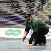 Lyderis: pernai M.Panovas svariai prisidėjo prie Lietuvos aklųjų riedulio rinktinės sėkmės paralimpiniame atrankos turnyre JAV