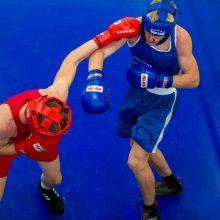 Europos jaunių čempionate Lietuvos boksininkai iškovojo tris medalius