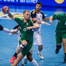 Lietuvos vyrų rankinio rinktinė pirmos pergalės sieks Izraelyje